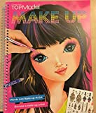 TOPModel make-up colouring book