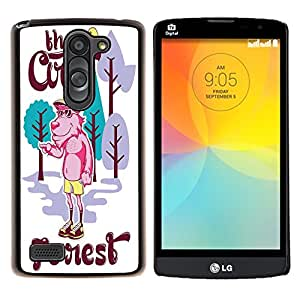 Dragon Case - FOR LG L Bello L Prime D337 - Interesting old man - Caja protectora de pl??stico duro de la cubierta Dise?¡Ào Slim Fit