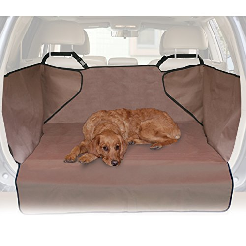 K&H Pet Products Economy Cargo Cover Tan - Protects Cargo Area of Your Car (Station Wagon Car)