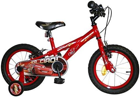 Cars - Bicicleta con diseño de la película (Ruedas diámetro 35,5 ...