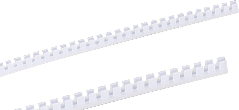 color blanco GTSE Tira de ojal 10 m, 1,6 mm a 2,0 mm