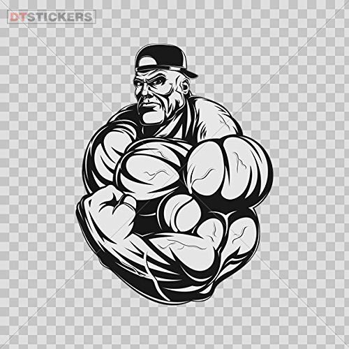 Decoration Vinyl Sticker Gym Bodybuilding Fitness Decoration Motorbike D217 22726