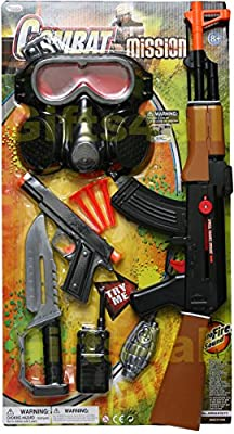 Gas Mask Model: Combat Russian model Rifle AK-47 Full Size Air- Clicker Friction Power with Auto Fire Sound from GPW :: Gas Mask Bag :: Army Gas Masks :: Best Gas Mask