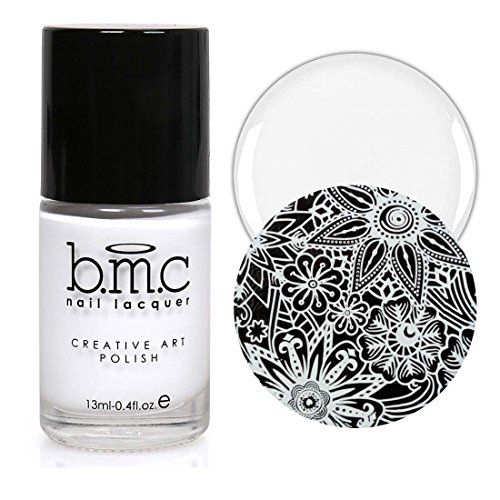 Maniology (formerly bmc) 2nd Gen Creative Nail Art Stamping Polish - Essentials: Primary, BAM! White
