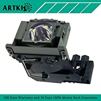 VLT-HC900LP Replacement Lamp with Housing for Projector Mitsubishi HC900 HC900U HD4000 HD4000U (By Artki)