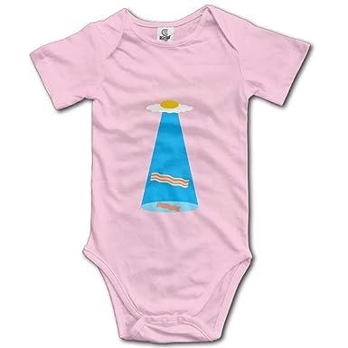 Amazon.com: Bacon Egg Alien Spaceship UFO Kids Boys Girls ...