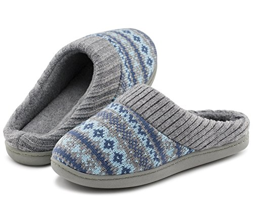 Pictures of RockDove Women's Sweater Knit Memory Foam Slipper 11 M US 1