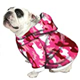 English Bulldog Dog Sweatshirts - Bigger Than Beefy Pink Camouflage