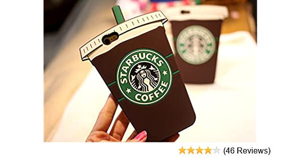save off f349a f58e6 Starbucks Coffee Ice Cream Rubber Phone Case Cover for Iphone 6 4.7