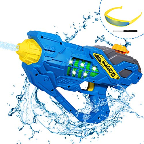 Auney Electric Water Gun Blaster for Kids, 32 Ft Long Range Squirt Guns for Adults, Water Blaster Shooter for Teens Beach Swimming Pool Water Toys