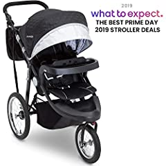 Travel, trek, wander or roam with the J is for Jeep Brand Cross-Country Sport Plus Jogger. A versatile jogging stroller, it showcases how luxury and extreme capability combine to help you create unforgettable journeys with your child. Equippe...
