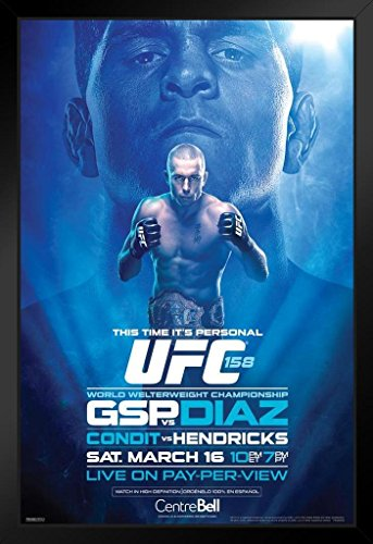 Pyramid America Official UFC 158 Georges St Pierre for sale  Delivered anywhere in USA