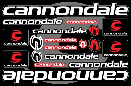 Cannondale Decals Stickers Bicycle Frame Replacement Graphic Set #1