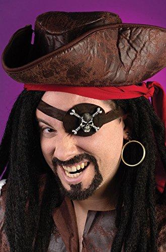 [Caribbean Pirate Eye Patch Kit] (Caribbean Pirate Eye Patch Kit)