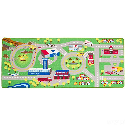 (Kids Play Car Rug - Community Carpet Mat Large, 78
