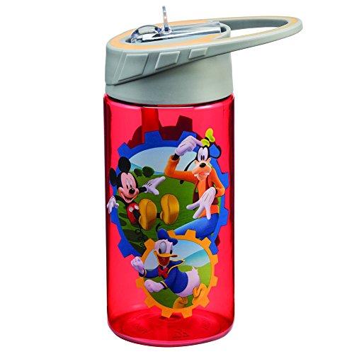 Vandor Disney Jr. Mickey Mouse Club Tritan Water Bottle, 14 oz, Multicolor