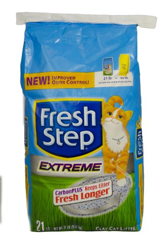 Fresh Step Cat Litter, Extreme, 21-Pound Package 51yVHjB9deL