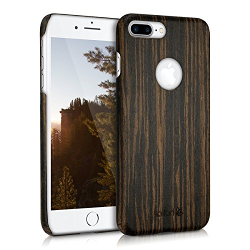 Wood Case for iPhone 7 Plus (Dark Brown) - 3