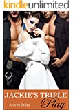 Jackie's Triple Play (A Menage, Sexy and Short Romance Book 3)