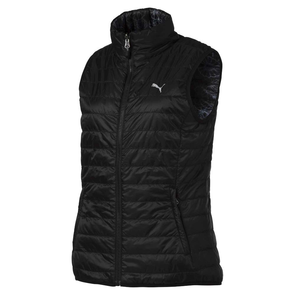 Puma Golf Women's 2019 Pwrwarm Reversible Vest, Puma Black, Medium by PUMA