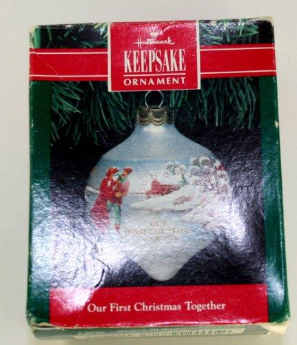 Hallmark Our First Christmas Ornament.Amazon Com Hallmark Keepsake Ornament Our First Christmas