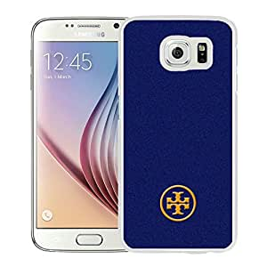 Fahionable Custom Designed Samsung Galaxy S6 Cover Case With Tory Burch 69 White Phone Case