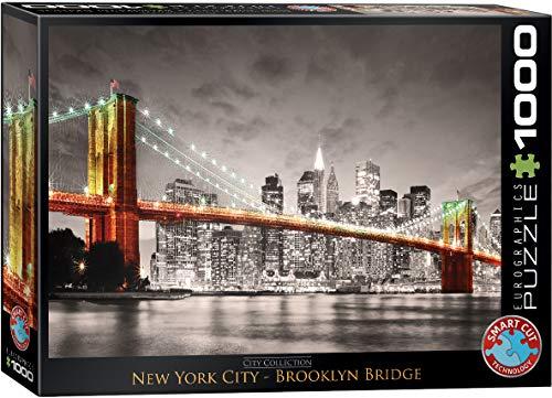 (EuroGraphics New York City Brooklyn Bridge Puzzle (1000-Piece) )