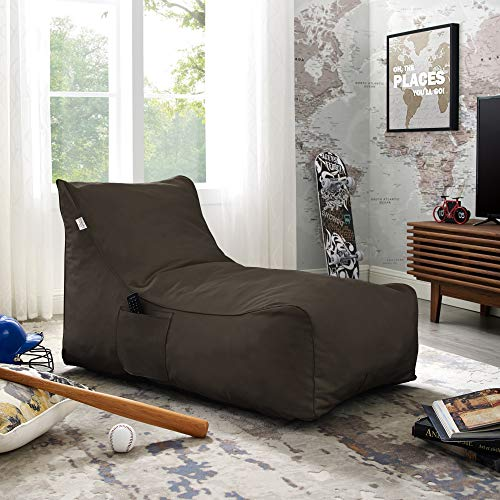 Loungie Brown Memory Foam Sofa - Design: Resty | Nylon | Indoor/Outdoor | Self Expanding | Water Resistant