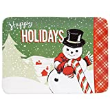 "Certified International Retro Christmas Rectangular Platter, 16"" x 12"", Multicolor"