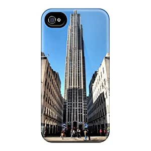 New Arrival Case Cover With CYXXCCY2543vCEuL Design For Iphone 4/4s- 30 Rock In Manhattan Hdr