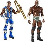 Kids Indoor Fun Playtime WWE Elite Figure, Xavier Woods & Basic Apollo Crews Figure Bundle of 2