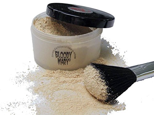 Bloody Mary Makeup Loose Setting Powder, (Goth Makeup For Halloween)