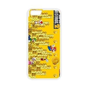 Super Mario Bros iPhone 6 4.7 Inch Cell Phone Case White MSY180746AEW