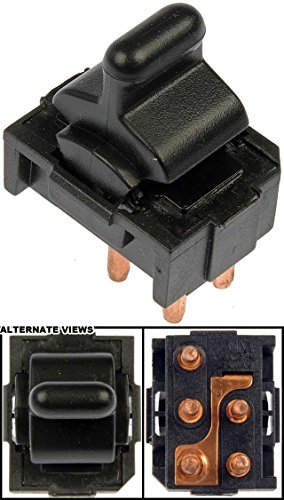 [APDTY 012115 Power Window Switch Front Left or Front Right For 1984-1989 Chevy Corvette Mounts In Center Console (1 Single Button Switch) (Replaces GM 10092804)] (Corvette Single)