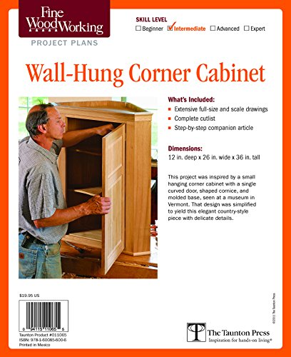 Wall-Hung Corner Cabinet