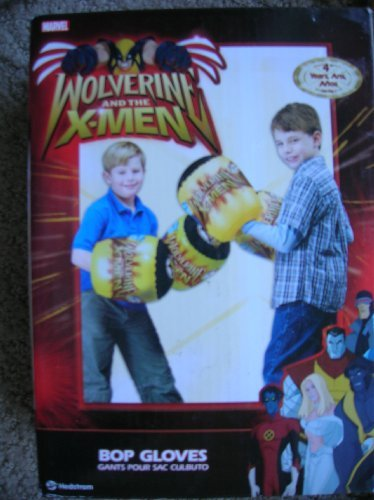 Marvel Wolverine and The X-Men Kids Inflatable Bop Gloves ()