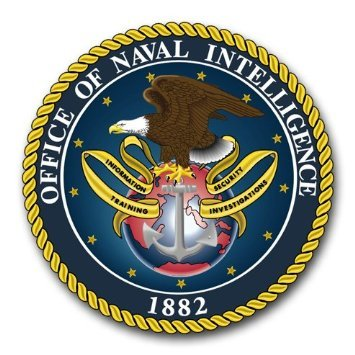 US Navy Office of Naval Intelligence Decal Sticker (Naval Aircrew Wings)
