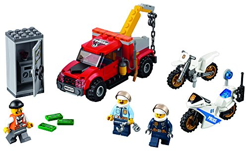 Lego Fire Truck Instructions - LEGO City Police Tow Truck Trouble 60137 Building Toy