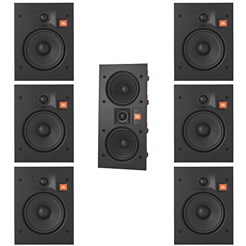 JBL Arena 7.0 Home Theater System with 6 JBL Arena 6IW In-Wall Loudspeakers and 1 JBL Arena 55IW In-Wall Loudspeaker