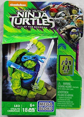 Mega Bloks Teenange Mutant Ninja Turtles Out of The Shadows Leo Figure