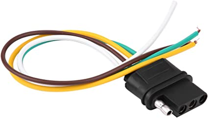 amazon com acouto plug wiring connector, 4 pins trailer painless wiring harness motorhome wire harness #3
