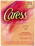 Caress Beauty Bar, Daily Silk, 3.15 Ounce, 8 Bar