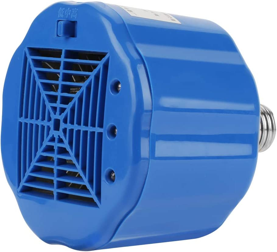 Pollo Ganader/ía L/ámpara de Calor 100-300W L/ámpara de Calor para Mascotas Caredy L/ámpara de Calor de Aves de Corral L/ámpara de calefacci/ón de Cultivo para Mascotas