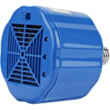 Safe Chicken Coop Heater, Poultry Heat Lamp Fan Blows Heating Coil, 100W 200W 300W Adjustable 3 Levels,Cover 1 Square Meter,