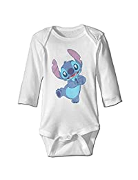 Lilo & Stitch Lovey Stitch Baby Long Sleeve Bodysuits