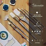 Silver Brush Limited 1511S3/4 Silverwhite Stroke