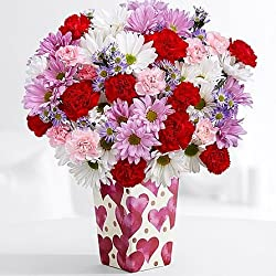 Mix Valentine's - eshopclub Same Day Valentine Day Flower Delivery - Online Valentine Flowers & Roses - Valentine Gifts Bouquets & Ideas - Send Valentine Gifts 2017