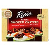 Reese Petite Smoked Oysters, 3.70 oz, Pack of 10