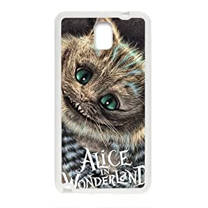 Alice In Wonderland Fashion Comstom Plastic case cover For Samsung Galaxy Note3