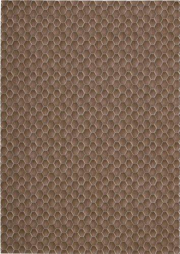 Calvin Klein Home Loom Select Neutrals Fawn Transitional 2' x 2'9